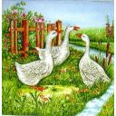 Три веселых гуся