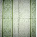 салатовые полосы  с узором