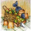 Горшки и яблоки