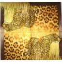 Леопард на узоре