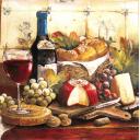 к бокалу красного вина...