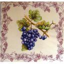 виноград с виноградным узором