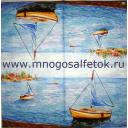 море, лодки...