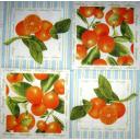Апельсины в квадратиках