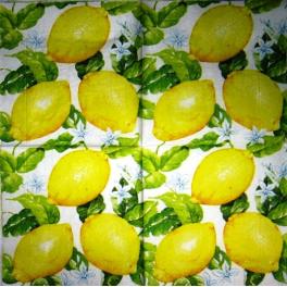 Лимоновый фон