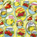 Винтажные фрукты-ягоды