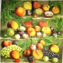 Нарисованные фрукты