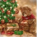 Мишка с подарками