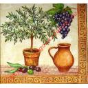 Оливки и виноград