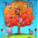 Совята на дереве