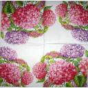 розовая гортензия 25 х 25