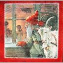 Nisse Santa c козочкой