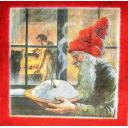 Nisse Santa с кашей
