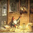 гном с лошадкой