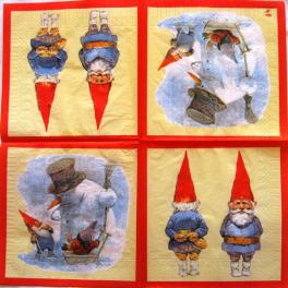 Гномы Вила Хёйгена.Зимой