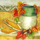 Кувшин, кукуруза и каштаны