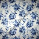 Синие состаренные розочки