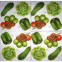 Овощи акварель