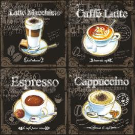 Четыре кофе