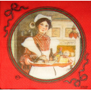 """Carl Larsson's """"Martina and the Breakfast Tray"""""""