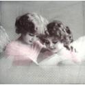 ангелы с открыткой