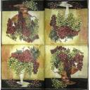 Виноград в вазах