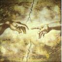 Фрагмент фрески Микеланджело