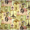Коллаж винтажный Париж