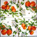 Яблоки, в цвету