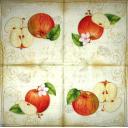 Яблочки на узоре