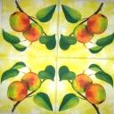 яблоки акварельные