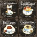 Четыре кофе 33 х 33