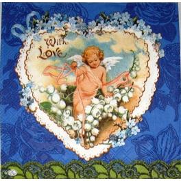 Ангел в сердечке