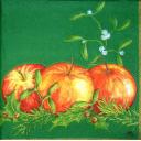 рождественские яблочки