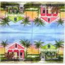 домики и пальмы
