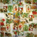 Винтажные  рождественнские  картинки