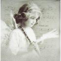 девочка ангел с флейтой