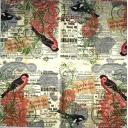 Птички на газете