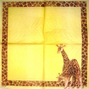 Жирафы с узором