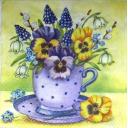 цветочки в чашечке