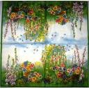 лягушонок и птичка в цветах