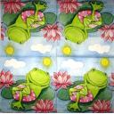 Счастливый лягушонок