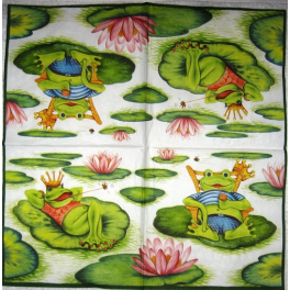 лягушки с коронами