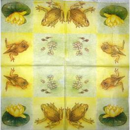 лягушки и лилия