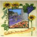 Пейзаж и продукты прованса