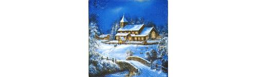 Пейзаж и интерьер  зимний